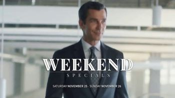 JoS. A. Bank Weekend Specials TV Spot, 'Sportcoats, Sportshirts & Sweaters' - Thumbnail 3