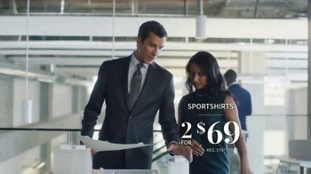 JoS. A. Bank Weekend Specials TV Spot, 'Sportcoats, Sportshirts & Sweaters' - Thumbnail 4