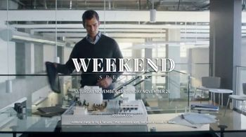 JoS. A. Bank Weekend Specials TV Spot, 'Sportcoats, Sportshirts & Sweaters' - Thumbnail 7