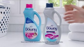 Downy Protect & Refresh TV Spot, 'Half-Washed: Steakhouse' - Thumbnail 7