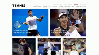 TENNIS.com TV Spot, 'Online Connection' - Thumbnail 5