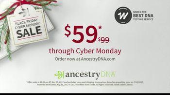 AncestryDNA Black Friday Cyber Monday Sale TV Spot, 'Give AncestryDNA' - Thumbnail 10