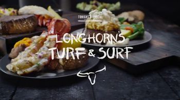 Longhorn Steakhouse Turf & Surf TV Spot, 'Eat Like You Own the Place'