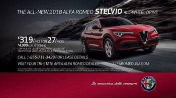 2018 Alfa Romeo Stelvio TV Spot, 'Unforgettable' Song by Nicholas Britell [T2] - Thumbnail 10