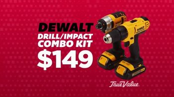 True Value Hardware Wrap It Up Sale TV Spot, 'Dewalt Drill & LED Light Set'