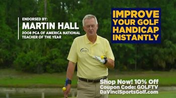 Da Vinci Sports Golf TV Spot, 'Versatile System' Featuring Martin Hall