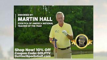 Da Vinci Sports Golf TV Spot, 'Versatile System' Featuring Martin Hall - Thumbnail 4