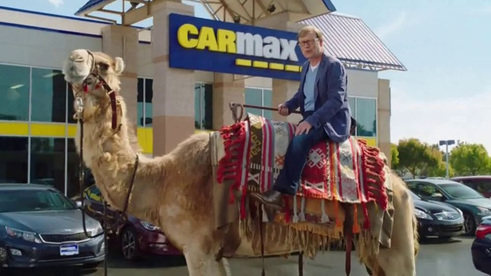 CarMax TV Commercial, 'Camel' Featuring Andy Daly