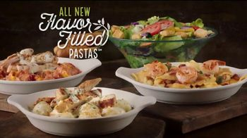 Olive Garden Flavor Filled Pasta TV Spot, 'Get Together'