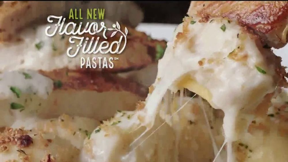 Olive Garden Flavor Filled Pasta TV Commercial, 'Get ...