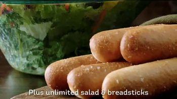 Olive Garden Flavor Filled Pasta TV Spot, 'Get Together' - Thumbnail 8