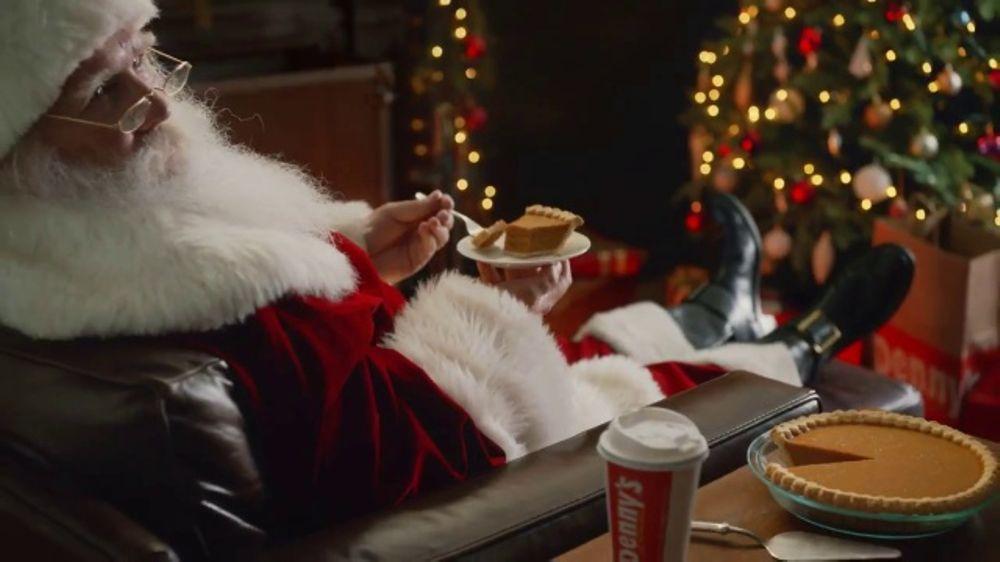 Denny's TV Commercial, 'Snack for Santa'
