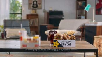 Carl's Jr. $5 All Star Meals TV Spot, 'Beige'