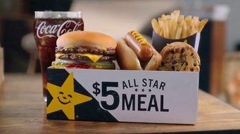 Carl's Jr. $5 All Star Meals TV Spot, 'Beige' - Thumbnail 3