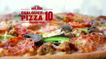 Papa John's TV Spot, 'Cualquier pizza' [Spanish] - 546 commercial airings