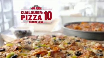 Papa John's TV Spot, 'Cualquier pizza' [Spanish] - Thumbnail 1