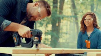 Worx 20V Axis TV Spot, 'Treehouse Memories' - 1226 commercial airings
