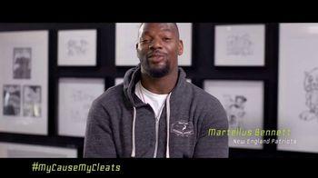 NFL TV Spot, 'My Cause My Cleats: Martellus Bennett' - Thumbnail 2
