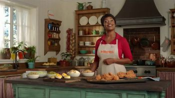 Popeyes $20 Holiday Feast TV Spot, 'A Real Dinner' - Thumbnail 6