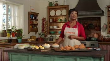 Popeyes $20 Holiday Feast TV Spot, 'A Real Dinner' - Thumbnail 7