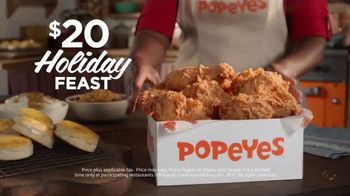 Popeyes $20 Holiday Feast TV Spot, 'A Real Dinner' - Thumbnail 9