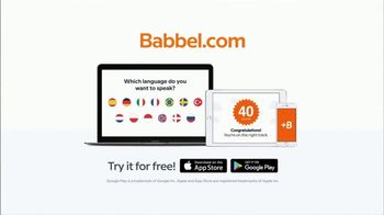 Babbel TV Spot, 'My Mother Is a Noodle' - Thumbnail 10