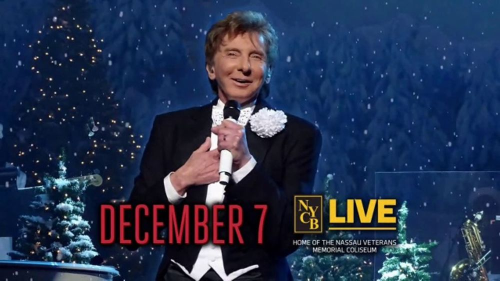 Nassau Coliseum TV Commercial, \'Manilow: A Very Barry Christmas ...