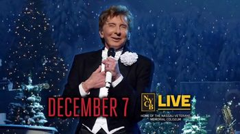 Nassau Coliseum TV Spot, 'Manilow: A Very Barry Christmas' - Thumbnail 5