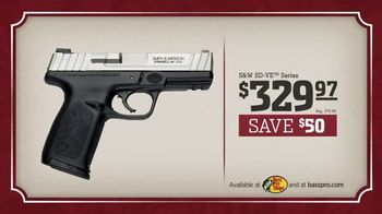 Bass Pro Shops Holiday Sale TV Spot, 'Wonder: Smith & Wesson Pistol' - Thumbnail 6