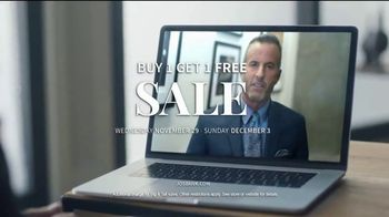 JoS. A. Bank Buy One, Get One Free Sale TV Spot, 'Online Interview' - Thumbnail 8