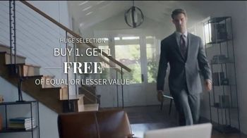 JoS. A. Bank Buy One, Get One Free Sale TV Spot, 'Online Interview'