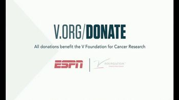 The V Foundation for Cancer Research TV Spot, 'ESPN: Universal' - Thumbnail 9