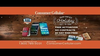 Consumer Cellular TV Spot, 'Better Value: Pie: Holiday $20 Credit: Plans $15 a Month' - Thumbnail 8