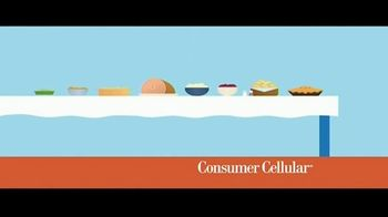 Consumer Cellular TV Spot, 'Better Value: Pie: Holiday $20 Credit: Plans $15 a Month' - Thumbnail 1