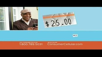 Consumer Cellular TV Spot, 'Better Value: Pie: Holiday $20 Credit: Plans $15 a Month' - Thumbnail 3