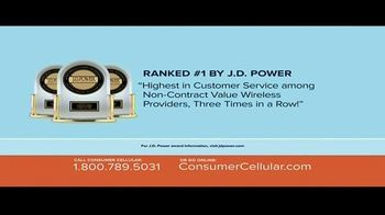 Consumer Cellular TV Spot, 'Better Value: Pie: Holiday $20 Credit: Plans $15 a Month' - Thumbnail 6