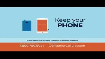 Consumer Cellular TV Spot, 'Better Value: Pie: Holiday $20 Credit: Plans $15 a Month' - Thumbnail 7