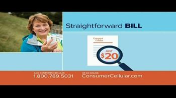 Consumer Cellular TV Spot, 'Better Value: Pie: Holiday $20 Credit: Plans $15 a Month'