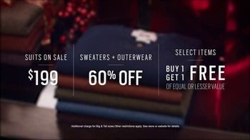 Men's Wearhouse TV Spot, 'Open Early: Suits, Sweaters and Outerwear' - Thumbnail 4