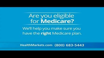 HealthMarkets TV Spot, 'Are You Eligible for Medicare?'