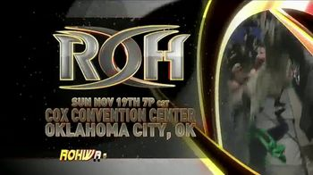 ROH Wrestling Live on Tour TV Spot, 'International Tapings' - Thumbnail 1