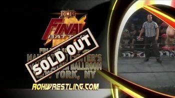 ROH Wrestling Live on Tour TV Spot, 'International Tapings' - Thumbnail 3