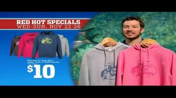 Bass Pro Shops 5 Day Sale TV Spot, 'Red Hot: Hoodies, Rods and Rain Suit' - Thumbnail 5