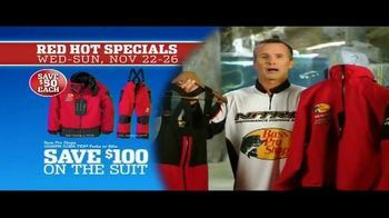Bass Pro Shops 5 Day Sale TV Spot, 'Red Hot: Hoodies, Rods and Rain Suit' - Thumbnail 7