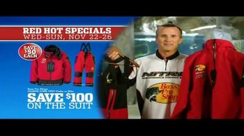 Bass Pro Shops 5 Day Sale TV Spot, 'Red Hot: Hoodies, Rods and Rain Suit' - Thumbnail 8