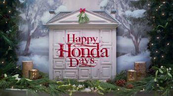 Honda Happy Honda Days Sales Event TV Spot, 'Holiday Singalong' [T1] - Thumbnail 1