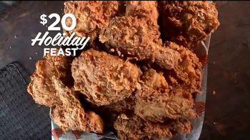 Popeyes $20 Holiday Feast TV Spot, 'Irresistible' [Spanish] - Thumbnail 1