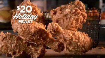 Popeyes $20 Holiday Feast TV Spot, 'Irresistible' [Spanish] - Thumbnail 2