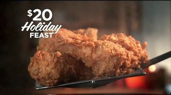 Popeyes $20 Holiday Feast TV Spot, 'Irresistible' [Spanish] - Thumbnail 5