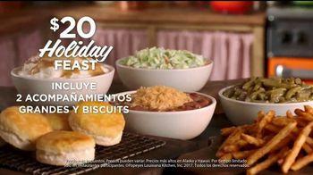 Popeyes $20 Holiday Feast TV Spot, 'Irresistible' [Spanish] - Thumbnail 6
